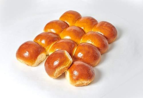 Wildflour Bakery Brioche Slider Buns, Certified Non GMO by NSF, Kosher Pareve