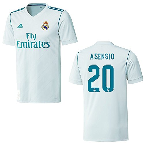 adidas REAL Madrid Trikot Home Kinder 2018 - ASENSIO 20, Größe:176