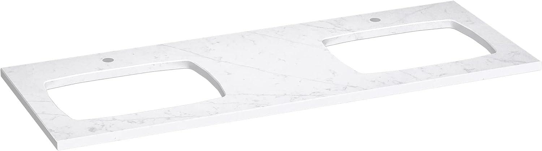 Kohler 28257-EST Long-awaited Silestone Bathroom Time sale Sinks ET Statuario
