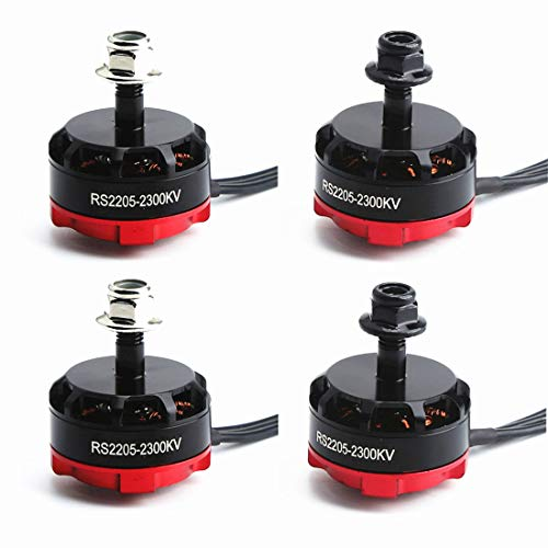 Metermall Games For RS2205 2300KV 2205 CW/CCW Brushless Motor for FPV Racing Quad Motor FPV Multicopter 4pcs