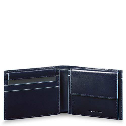 Portafoglio uomo con portamonete, porta carte di c