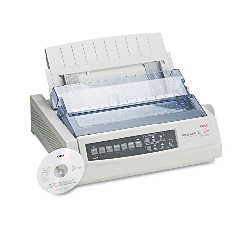 OKI 62411601 Microline 320 Turbo Dot Matrix Impact Printer
