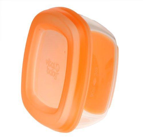 Vital Baby Gefrierschalen maxi 90ml - 4 Stück orange