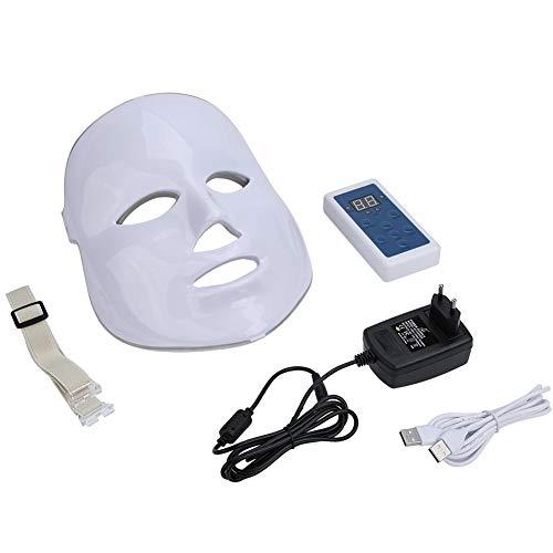 2 Tipos 7 Colores LED Fotón Facial Acné Arrugas Eliminar Cuidado De La Piel Rejuvenecimiento Máscara Contra El Envejecimiento(01)