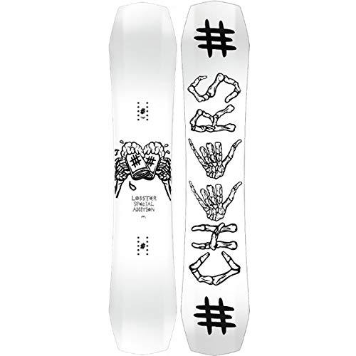 Herren Freestyle Snowboard Lobster Artist Edition Schoph 151 2019 Snowboard
