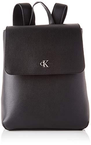Calvin Klein Damen Backpacks Rucksäcke, Schwarz, One Size