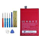 Upplus Batería de repuesto BLP597 compatible con Oneplus 2, A2001, A2003, A2005 con kit de herramientas