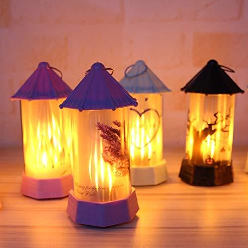 2019 - Luz nocturna LED con simulación de llama, para decoración de interiores y de noche
