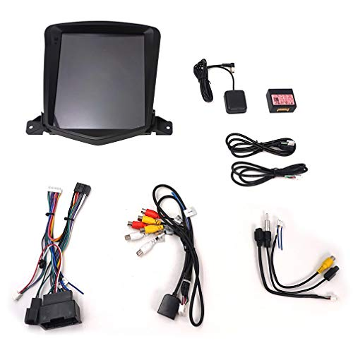 ZY1004C Android 8.1 Reproductor Multimedia para automóvil Cruze 2006-2014 Navegación GPS Vertical Pantalla de 10.4 Pulgadas