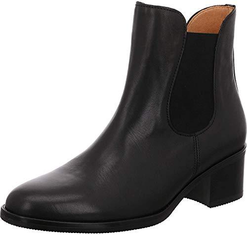 Gabor Fashion Stiefeletten in Übergrößen Schwarz 31.650.27 große Damenschuhe, Größe:42