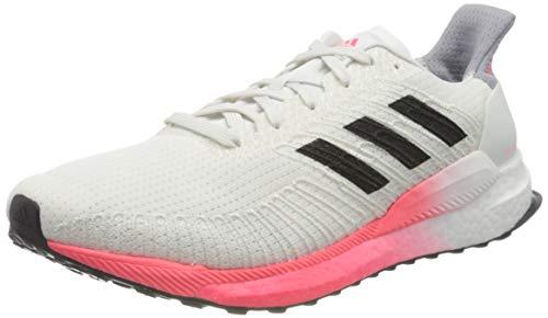 adidas Solar Boost 19, Zapatillas para Correr de Diferentes Deportes Hombre, Crywht/Cblack/Coppmt, 42 2/3 EU