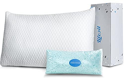 Lifewit Premium Shredded Memory Foam Pillow -...