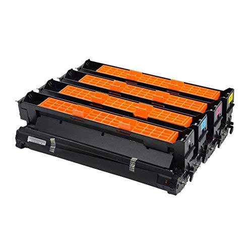 Kompatibel mit Tonerkartusche C910 OKI C930 C960 C910D fluoreszierende Trommeleinheit Laserdrucker Bürobedarf Umweltdruck Gesundheit Umweltschutz-four-color