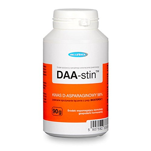 Megabol DAA Aspartic Acid and Vitamins Super, Scientifically Approved Ingredients To Increase Testosterone Levels