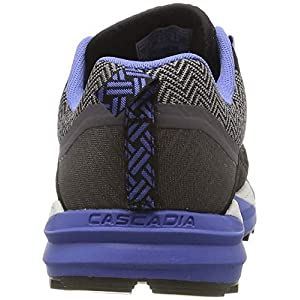 Brooks Women's Cascadia 14 GTX Black/Grey/Blue 8 B US