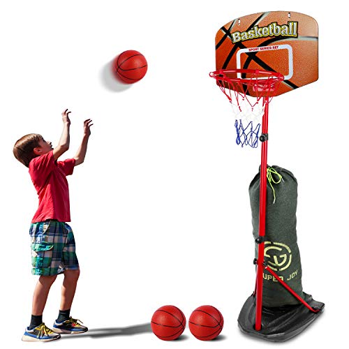 SUPER JOY Basketball Hoop for Toddlers review