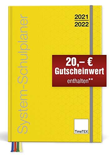 TimeTex System-Schulplaner A4-Plus Gelb - Schuljahr 2021 - 2022 - Lehrerkalender - Lehrertimer - 10750 - Neu – mit breitem Verschlußgummi