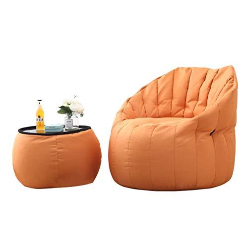 Liege Wohnzimmer Faule Kombination Aus Couch Und Couchtisch, Sitzsack for Das Wohnzimmer, Polsterung Aus EPP, Herausnehmbare Und Waschbare Sofa-Liege, Ideal for Spielestühle Und Lesestühle