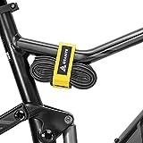 Granite Rockband - Cinghia di fissaggio in velcro per strumenti/camera d'aria adulto, unisex, 450 mm, colore: giallo
