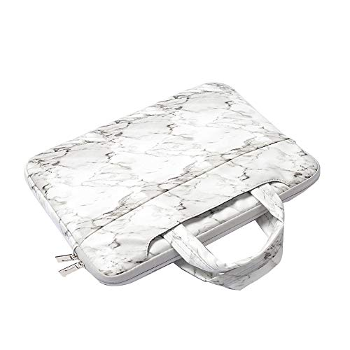 "11.6-15.6 Pulgadas Multifuncional portátil Bolsa maletín portátil de Ordenador portátil Caso Portador de la Ordenador portátil Messenger Caso,Blanco,15.6""(38.5X26X4cm)"