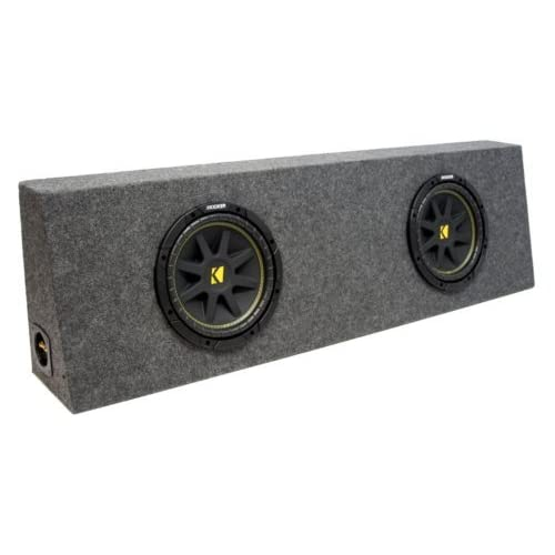 "Chevy Silverado Regular-Cab Single cab 10/"" Dual ported subwoofer box enclosure"