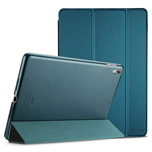 ProCase iPad Air 3 10.5' 2019 (3rd Generation) / iPad Pro 10.5' 2017 Smart Case Cover - Ultra Slim Lightweight Stand Case with Translucent Frosted Back, Auto Sleep/Wake –Teal