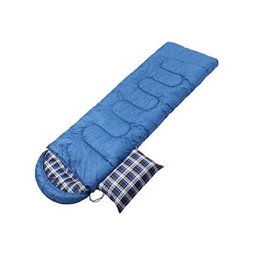 ZOUJIARUI Bolso para Dormir de Franela de algodón para Adultos cómodos, sobre con compresión (Color : B)
