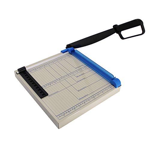 텍스알란 12 구리 시트 가죽 플라스틱 시트 철판 비직포 12판 80-그램 종이용 A4 종이 커터 다목적 트리머