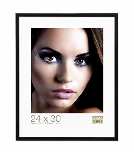 Deknudt Frames S024S2 Cadre Photo Aluminium Noir 40 x 60 cm