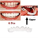 LTLGHY Perfect Smile Teeth Teeth Whitening Instant Perfect Smile Clip on Veneers Easy to Use Instant Natural Whitener Care Oral Snap
