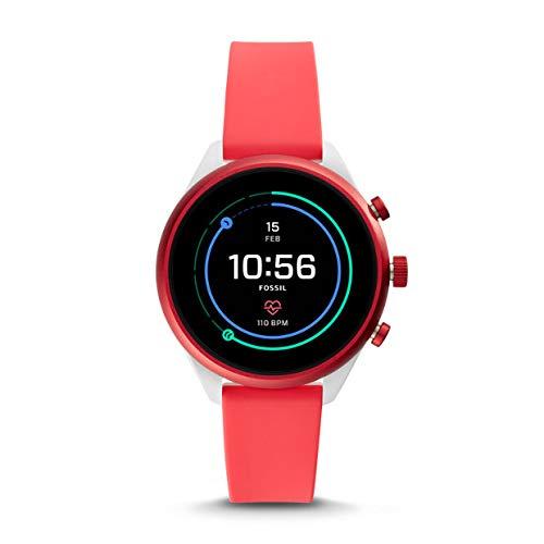 Fossil Smartwatch Sport, rot