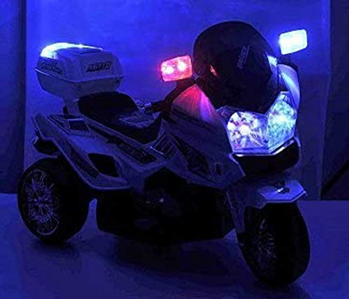 Crooza US HighWay PatrolKindermotorrad