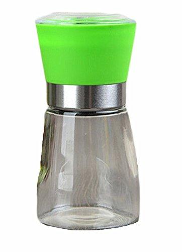 Home Fashion Sel contemporain et Moulin à poivre 6.5 * 13.5cm (Vert)