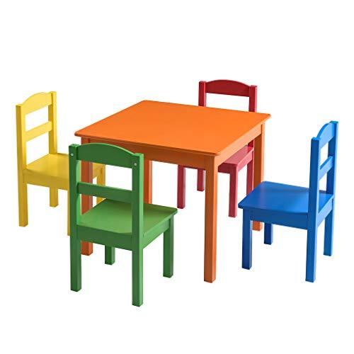 ikea kindertafel en stoeltjes