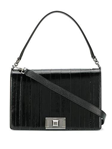 Luxury Fashion | Furla Dames 1033468 Zwart Leer Schoudertassen | Lente-zomer 20