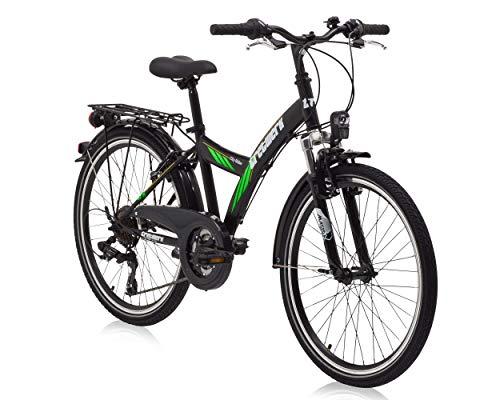 tretwerk DIREKT gute Räder City Rider 24 Zoll ATB Jungen, Jugend-Fahrrad 21-Gang Kettenschaltung