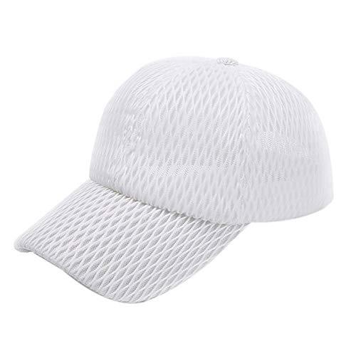 POIUIU Gorra De Béisbol Cola De Caballo Gorra De Béisbol Sombrero De Mujer Sombrero De Streetwear De Verano Sombreros De Niñas Sombreros para Mujeres