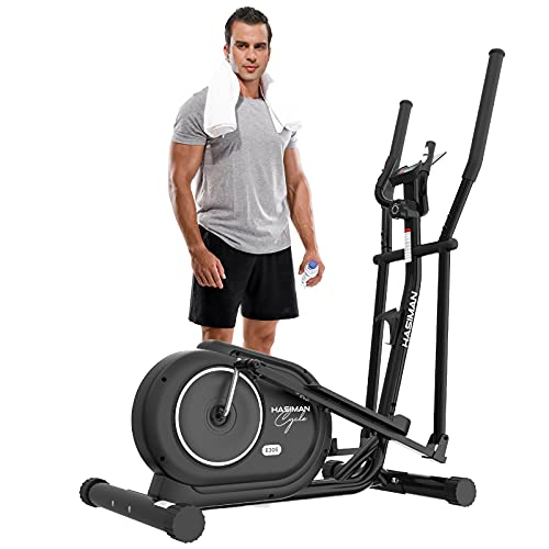 HASIMAN Elliptical Exercise Training Machine for Home Gym Use