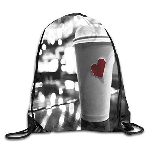 YuYfashions Drawstring Bag Coffee Love Pinterest Rucksack for Gym Hiking Travel Rucksack mit Kordelzug