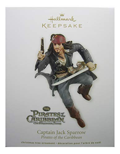 Captain Jack Sparrow 2011 Hallmark Ornament