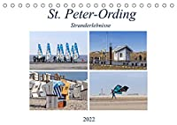 St. Peter-Ording Stranderlebnisse (Tischkalender 2022 DIN A5 quer): Eine kleine Auszeit vom Alltag (Monatskalender, 14 Seiten )