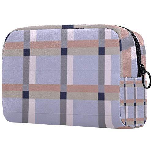 Personalisierbare Make-up-Pinsel-Tasche, tragbare Kulturtasche für Frauen, Handtasche, Kosmetik, Reise-Organizer, Pipeline-Hindernis