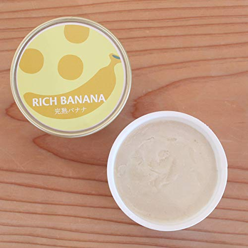 Soy GeLA! RICI BABABA 100m 6個 国産 バナナ オーガニック 低カロリー 豆乳 ジェラート アイスクリーム ギフト