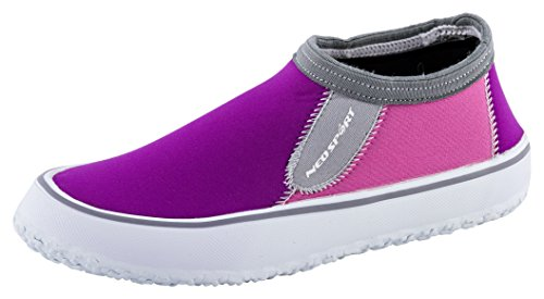NeoSport Women's Water & Deck Shoes, Berry, 5