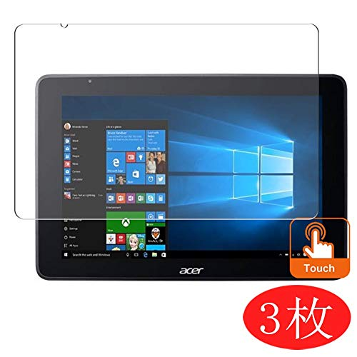【3 Pack】 Synvy Screen Protector for Acer ONE 10 S1003 10.1' TPU Flexible HD Film Protective Protectors [Not Tempered Glass]