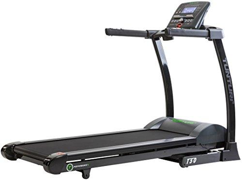 Tunturi T50 Treadmill Performance Unisex-Adult, Nero/Grigio, Taglia Unica