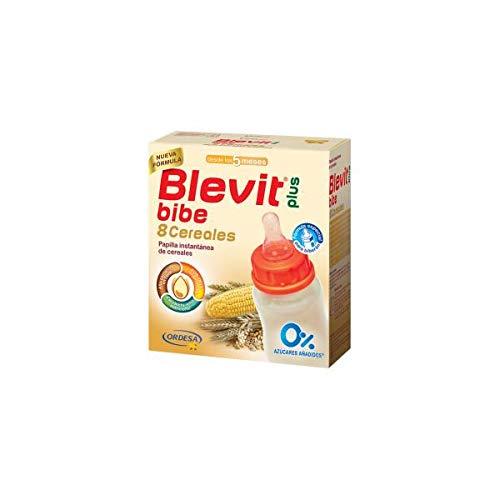 Blevit Plus Bibe 8 Cereales para Bebé - Pack de 2 x 300 g