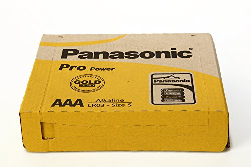 Panasonic Batterie Pro Power AAA