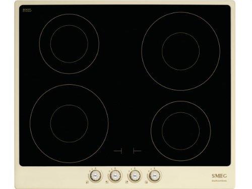 Smeg PI764PO piano cottura Nero, Crema Incasso A induzione