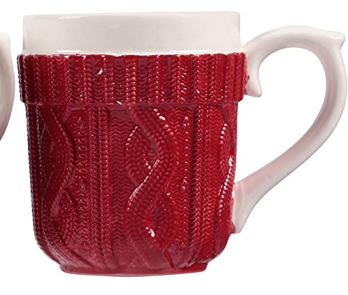 Holiday Sweater Mug (Red)